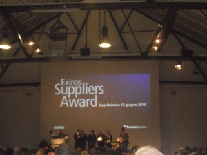 TENARIS DALMINE EXIROS SUPPLIERS AWARD 2013 010